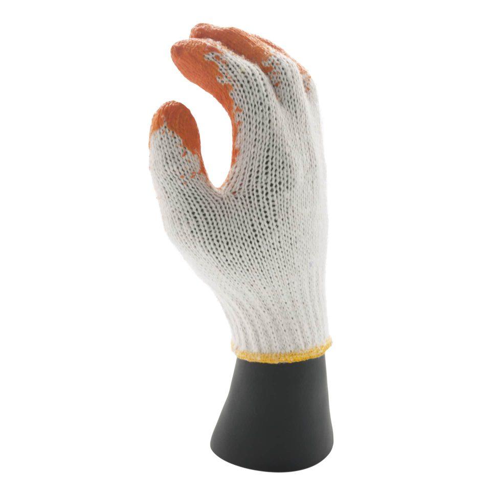 ถุงมือเคลือบยางพาราธรรมชาติ