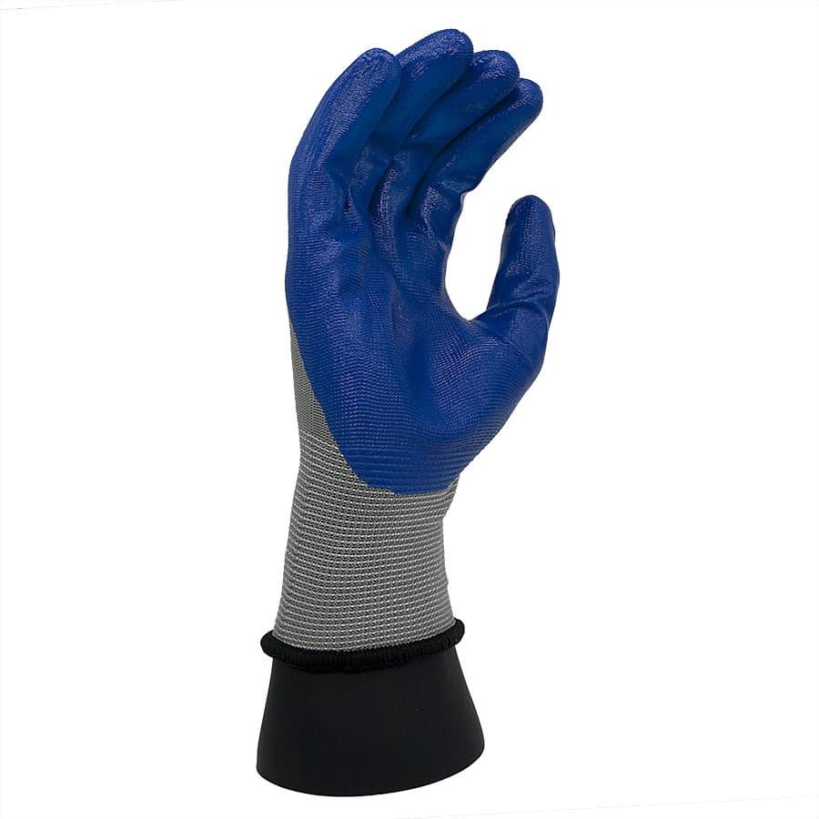 ถุงมือเคลือบไนไตร-front
