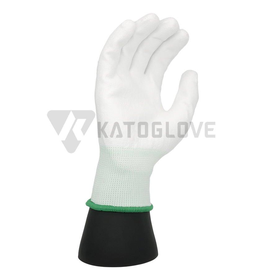 ถุงมือเคลือบPU-front