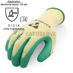 ถุงมือเคลือบlatex-katoglove