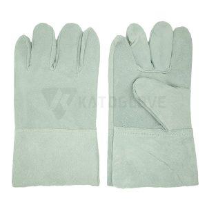 ถุงมือหนังท้อง (12คู่)