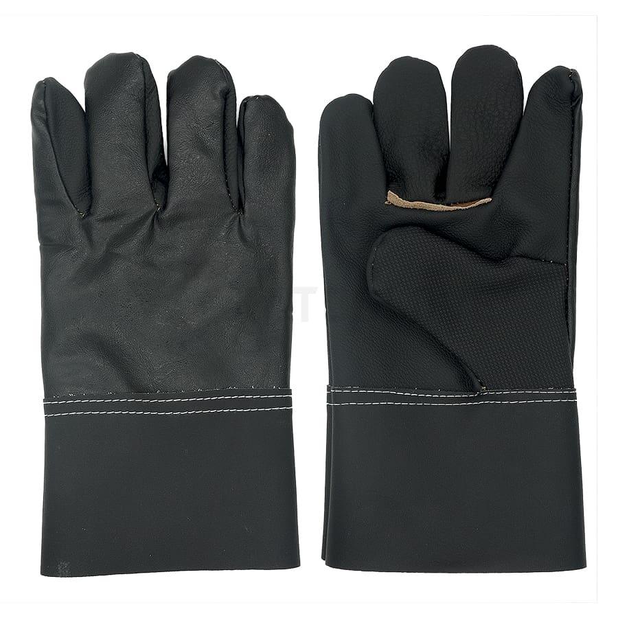 ถุงมือหนังแท้ฝ่ามือ
